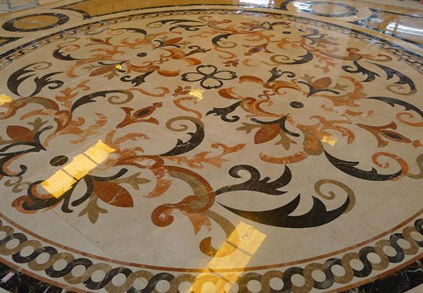 定制花纹图案地板