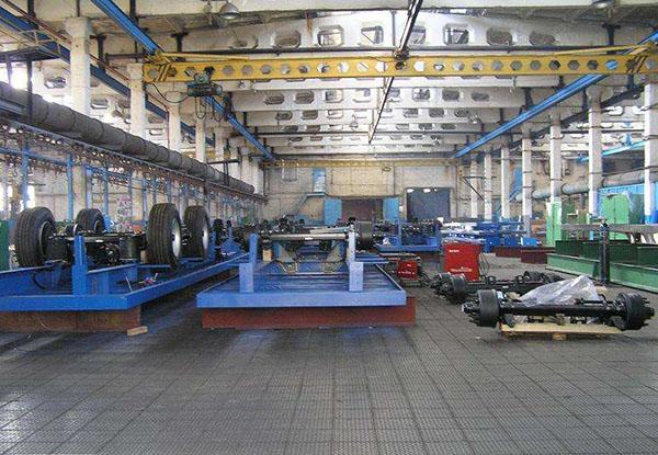 发货基地仓储金属地板