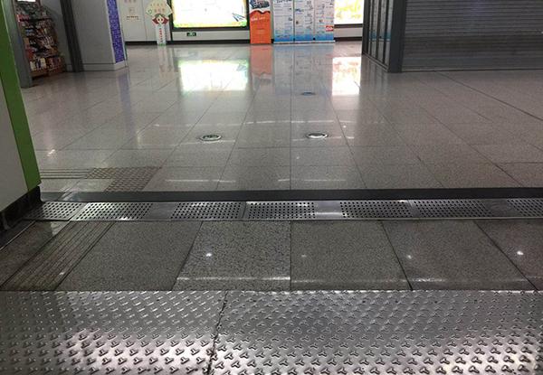 地铁用抗滑车间金属地板
