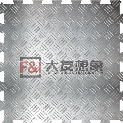 四联排不锈钢仓储金属地板