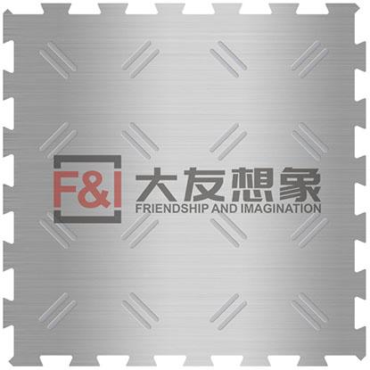 不锈钢花纹金属地板