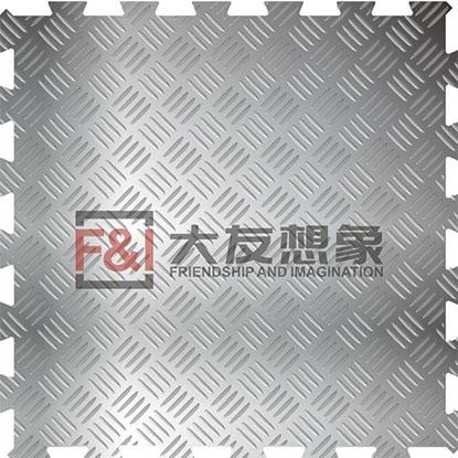 宜兴四联排不锈钢仓储金属地板
