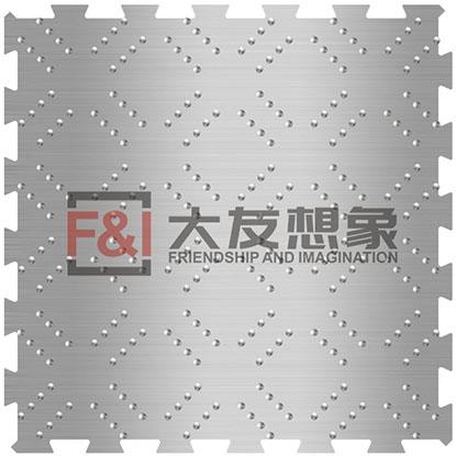 菱形花纹地板