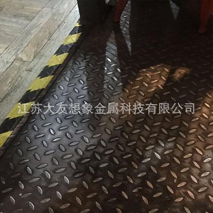 会展装饰花纹金属地板